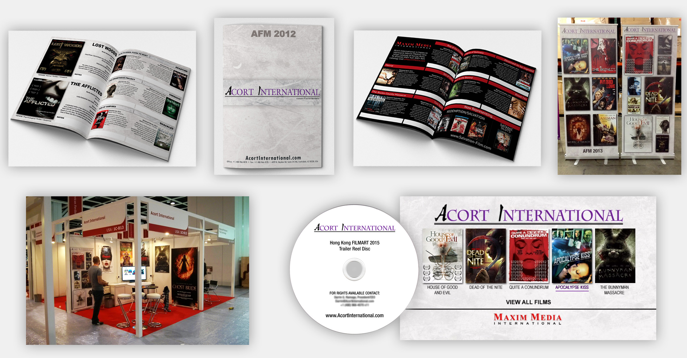 Acort International Film Market Materials