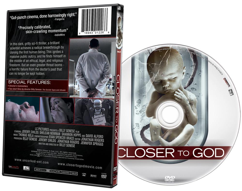 Closer to God DVD Art