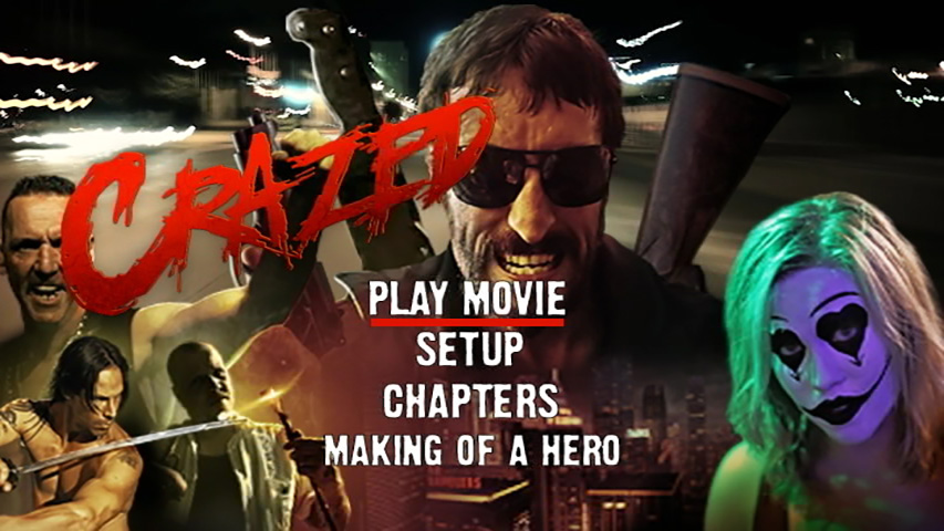 Crazed DVD Authoring