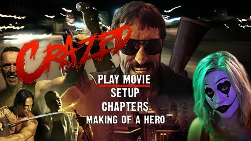 Crazed DVD Authoring