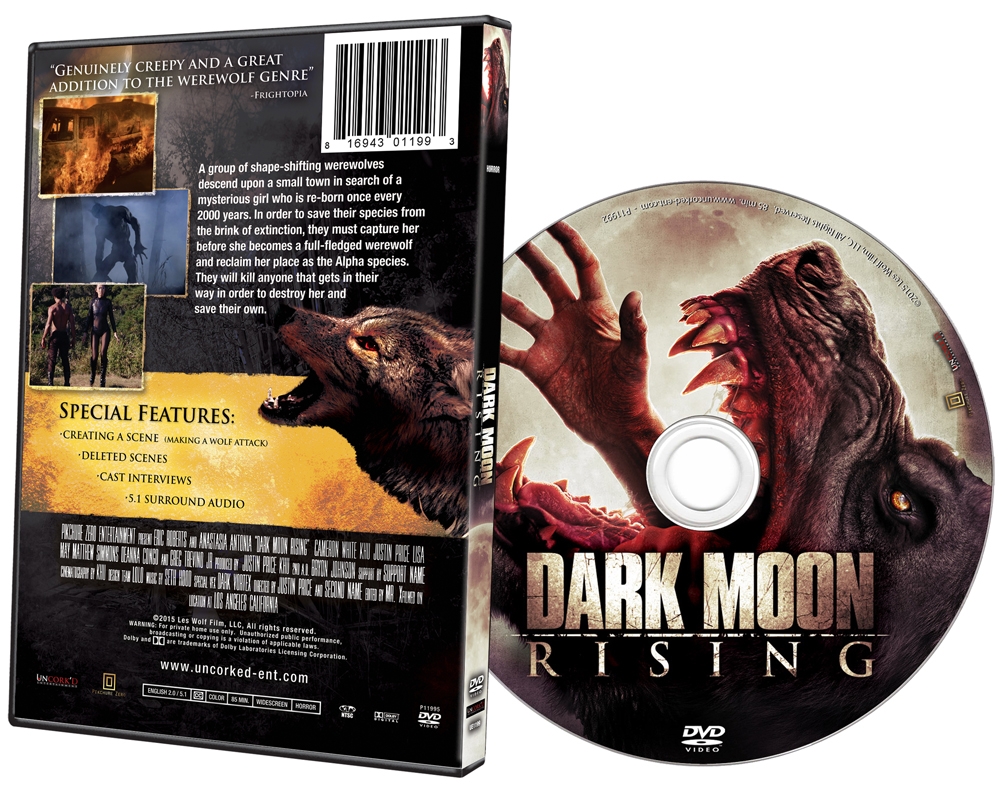 Dark Moon Rising DVD Art
