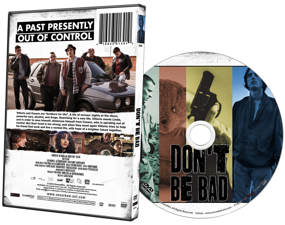 Don't Be Bad DVD Art