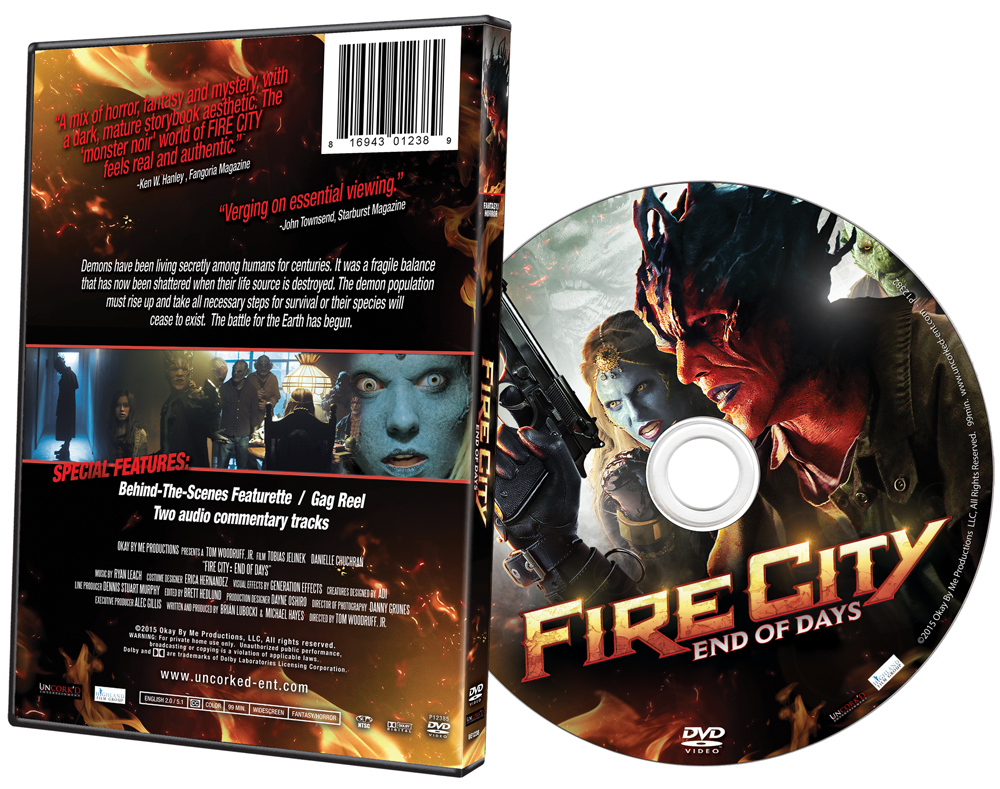 Fire City: End of Days DVD Art