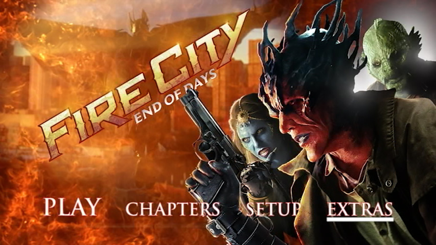 Fire City: End of Days DVD Authoring