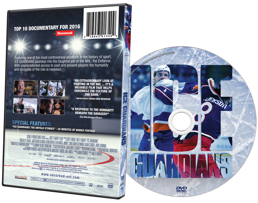 Ice Guardians DVD Art