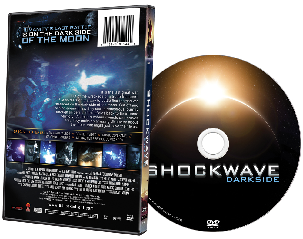 Shockwave Darkside DVD Art