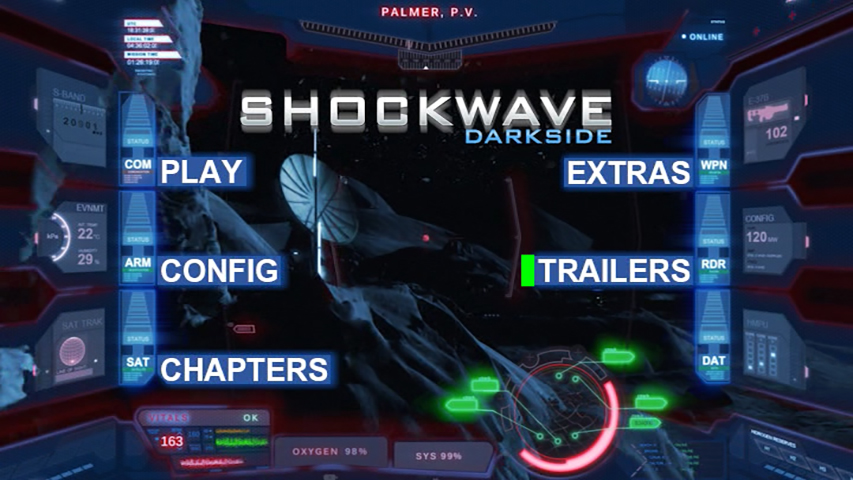 Shockwave Darkside DVD Authoring