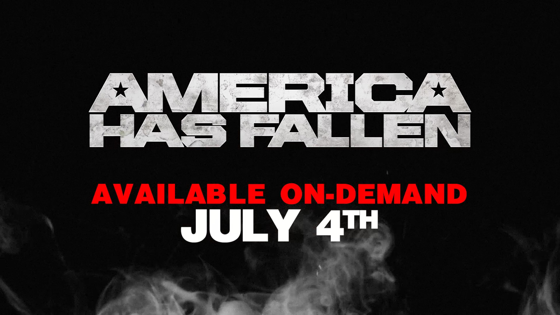 America Has Fallen Online Promo