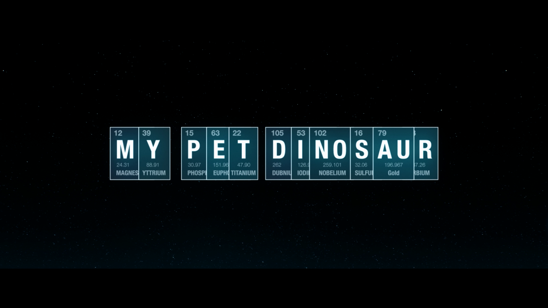 My Pet Dinosaur Trailer